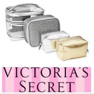 VICTORIA's SECRET Metallic Sparkle 4 BAGs SET